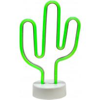 LED-valaisin PR Home Kaktus, 285 x 180 x 100 mm, vihreä