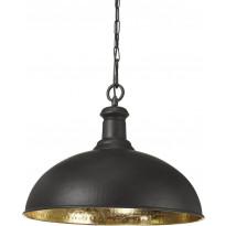 Kattovalaisin PR Home Delhi, Ø 500 x 390 mm, musta/kulta, Verkkokaupan poistotuote