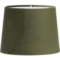 Varjostin PR Home Sofia, samettivarjostin, Ø 205/175 x 155 mm, vihreä