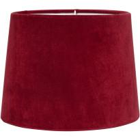 Varjostin PR Home Sofia, samettivarjostin, Ø 350/300 x 250 mm, punainen