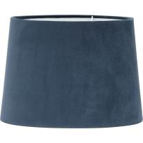 Varjostin PR Home Sofia, samettivarjostin, Ø 350/300 x 250 mm, sininen