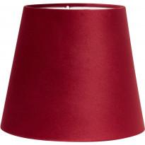Varjostin PR Home Mia, samettivarjostin, Ø 200/145 x 170 mm, punainen