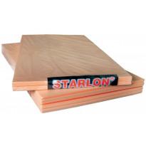 Lattialämmityksen eristelevy Pistesarjat Starlon 3mm (5m²/pkt)