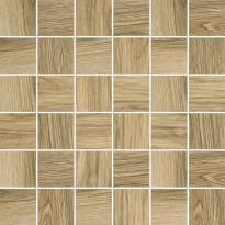 Mosaiikkilaatta Pukkila Natura Wood Frassino, himmeä, sileä, 50x50mm