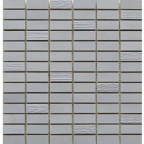 Mosaiikkilaatta Pukkila Esprit mosaiikki Stone, himmeä, sileä, 49.5x15mm