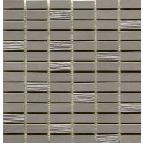 Mosaiikkilaatta Pukkila Esprit mosaiikki Earth, himmeä, sileä, 49.5x15mm