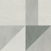 Kuviolaatta Pukkila Puntozero Geodecoro Freddo, himmeä, sileä, 798x798mm