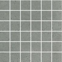 Mosaiikkilaatta Pukkila Puntozero Cenere, himmeä, sileä, 50x50mm
