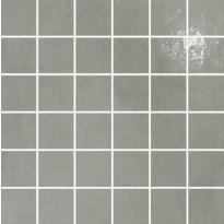 Mosaiikkilaatta Pukkila Puntozero Cenere, puolikiiltävä, sileä, 50x50mm