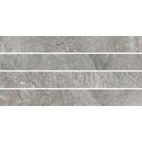 Mosaiikkilaatta Pukkila Blackboard Ash Moretto, himmeä, sileä, 600x300mm