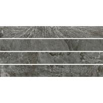 Mosaiikkilaatta Pukkila Blackboard Anthracite Muretto, himmeä, sileä, 600x300mm