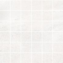 Mosaiikkilaatta Pukkila Landstone White, himmeä, sileä, 48x48mm