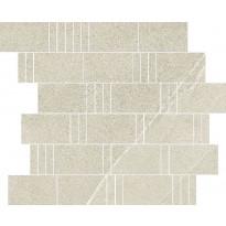 Mosaiikkilaatta Pukkila Landstone Dove Pave, himmeä, sileä, 298x298mm