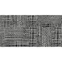 Lattialaatta Pukkila Craft Black/White, himmeä, sileä, 1198x598mm