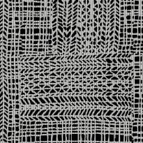 Lattialaatta Pukkila Craft Black/White, himmeä, sileä, 598x598mm