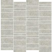 Mosaiikkilaatta Pukkila Deep mosaiikki Powder mattoncino, himmeä, sileä, 50x75mm