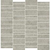 Mosaiikkilaatta Pukkila Deep mosaiikki Ash mattoncino, himmeä, sileä, 50x75mm