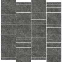 Mosaiikkilaatta Pukkila Deep mosaiikki Pepper mattoncino, himmeä, sileä, 50x75mm