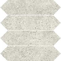 Mosaiikkilaatta Pukkila Deep mosaiikki Sugar losanghe, himmeä, sileä, 50x75mm