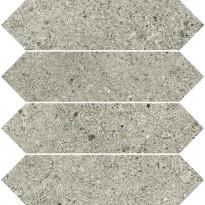 Mosaiikkilaatta Pukkila Deep mosaiikki Ash losanghe, himmeä, sileä, 30x7.5mm