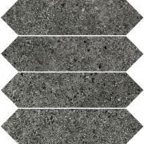 Mosaiikkilaatta Pukkila Deep mosaiikki Pepper losanghe, himmeä, sileä, 30x7.5mm