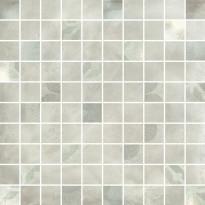 Mosaiikkilaatta Pukkila Materia Bianco Mix, himmeä, sileä, 33x33mm