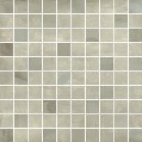 Mosaiikkilaatta Pukkila Materia Avorio Mix, himmeä, sileä, 33x33mm