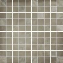 Mosaiikkilaatta Pukkila Materia Tortora Mix, himmeä, sileä, 33x33mm