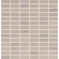 Mosaiikkilaatta Pukkila Biocrete mosaiikki Quartz, himmeä, sileä, 48x20mm
