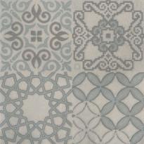Kuviolaatta Pukkila Reload Decoro Europeo Titanium, himmeä, sileä, 598x598mm