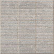 Mosaiikkilaatta Pukkila Evoluzione Grigio 2f Mix, himmeä, sileä, 298x298mm