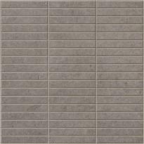 Mosaiikkilaatta Pukkila Evoluzione Piombo 2f Mix, himmeä, sileä, 298x298mm