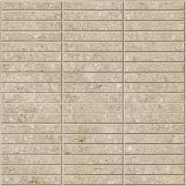 Mosaiikkilaatta Pukkila Evoluzione Greige 2f Mix, himmeä, sileä, 298x298mm