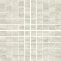 Mosaiikkilaatta Pukkila Emotion mosaiikki White, himmeä, sileä, 30x30mm