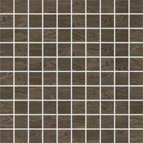 Mosaiikkilaatta Pukkila Emotion mosaiikki Walnut, himmeä, sileä, 30x30mm