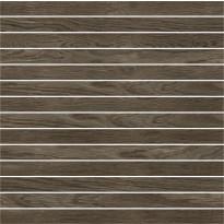 Mosaiikkilaatta Pukkila Emotion mosaiikki Walnut listelli, himmeä, sileä, 20x300mm