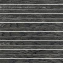 Mosaiikkilaatta Pukkila Emotion mosaiikki Black listelli, himmeä, sileä, 20x300mm