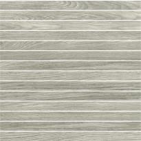 Mosaiikkilaatta Pukkila Emotion mosaiikki Grey listelli, himmeä, sileä, 20x300mm