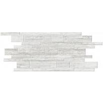 Mosaiikkilaatta Pukkila Italian Icon Vein Cut White Muretto, himmeä, sileä, 600x300mm