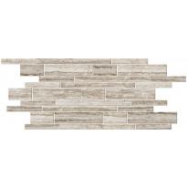 Mosaiikkilaatta Pukkila Italian Icon Vein Cut Beige Muretto, himmeä, sileä, 600x300mm