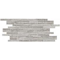 Mosaiikkilaatta Pukkila Italian Icon Vein Cut Grey Muretto, himmeä, sileä, 600x300mm