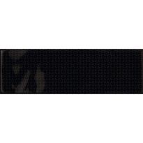 Kuviolaatta Pukkila Brick Inspiration Black, kiiltävä, struktuuri, 297x97mm