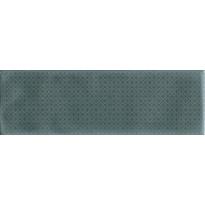 Kuviolaatta Pukkila Brick Inspiration Green, kiiltävä, struktuuri, 297x97mm