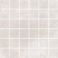 Mosaiikkilaatta Pukkila Europe White, himmeä, sileä, 50x50mm