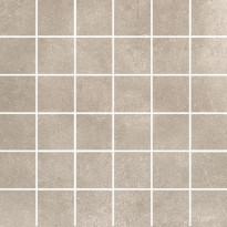 Mosaiikkilaatta Pukkila Europe Beige, himmeä, sileä, 50x50mm