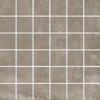 Mosaiikkilaatta Pukkila Europe Greige, himmeä, sileä, 50x50mm
