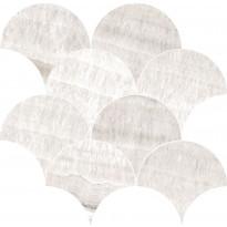 Mosaiikkilaatta Pukkila Rock Symphony Art Greige, kiiltävä, sileä, 290x280mm