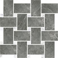 Mosaiikkilaatta Pukkila Marble Boutique Fior Di Bosco Chesterfield, kiiltävä, sileä, 317x305mm