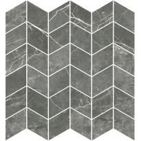 Mosaiikkilaatta Pukkila Marble Boutique Fior Di Bosco Chevron, kiiltävä, sileä, 298x298mm