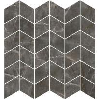 Mosaiikkilaatta Pukkila Marble Boutique Amani Chevron, kiiltävä, sileä, 298x298mm